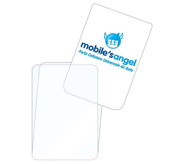 Accessorio PFA: personalizzazione con supporto cartaceo da inserire all'interno del porta comunicazione in plastica trasparente