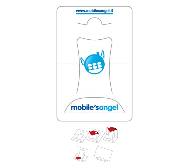 CARD - Accessory VCB: 300g paper card - business cards holder