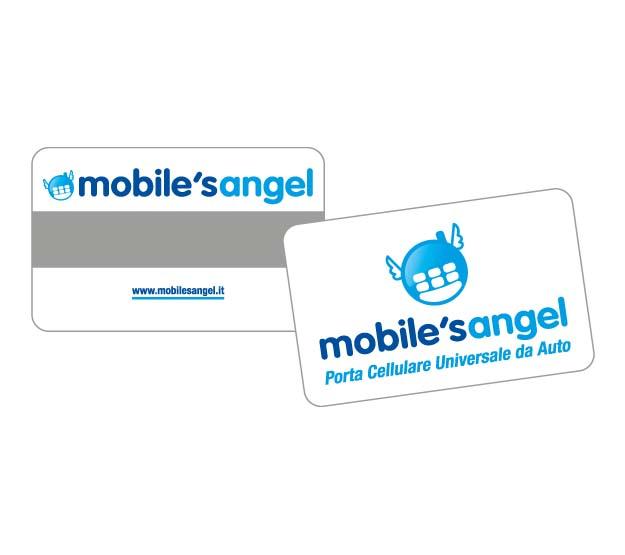CARD - Accessorio VCM: card plastica 75micron banda magnetica