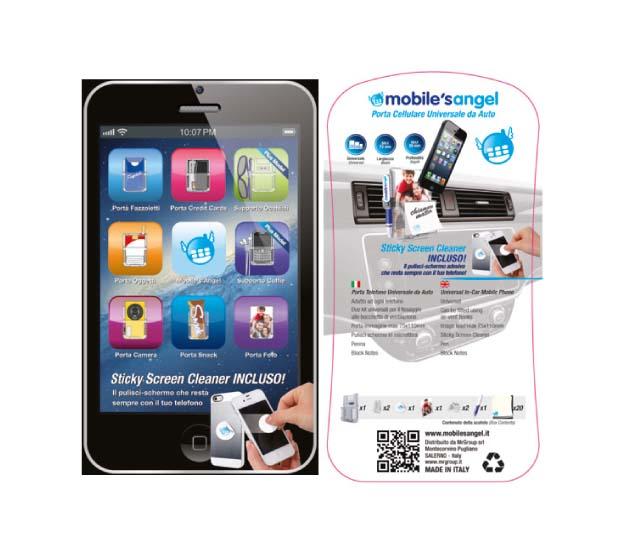 Accessorio PIP: scatolo su carta plastificata 150gr + cartoncino 300gr
